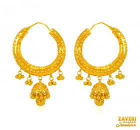 22 KT Gold Bali (Earrings)