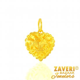 22 Karat Gold Fancy Pendant ( Gold Fancy Pendants )