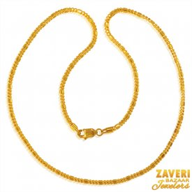 22 Karat Gold Chain  ( Plain Gold Chains )