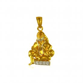 22Kt Sai Baba Gold Pendant ( Ganesh, Laxmi, Krishna and more )