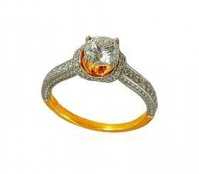 22k Exclusive Engagement Ring ( Stone Rings )