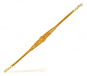 22 Karat Gold Bracelet For Ladies