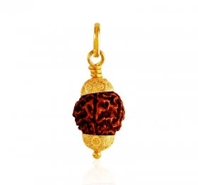 22k Gold Rudraksha Pendant ( Gold Fancy Pendants )
