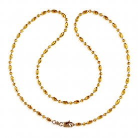 22kt Gold Rice Chain