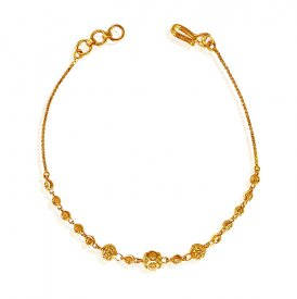 22K Gold Bracelet For Ladies ( 22K Ladies Bracelets )