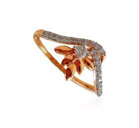 18Karat Rose Gold Diamond ring