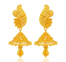 22KT Gold Fancy Earrings