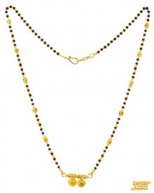 Indian Gold Mangalsutra 22 Kt ( Gold Mangalsutras )