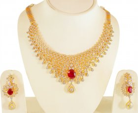 18ktK Yellow Gold Diamond Set