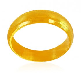 22Karat Gold Simple Plain Band