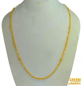 22 Kt Gold Fancy Chain (28 In) ( Long Chains (Ladies) )