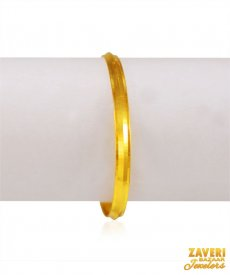 22k Gold Kids Kada (1pc) ( Baby Bangles )