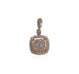 18K Gold Diamond Pendant ( Diamond Pendants )