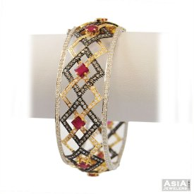 22k Antique Designer Kada(1 Pc) ( 22K Antique Bangles )