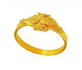 22kt Gold kids ring
