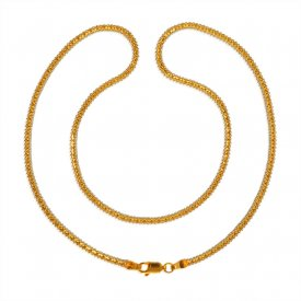 22 Karat Gold Two Tone Fancy Chain