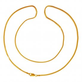 22kt Gold Mens Chain(22inch) ( Mens Gold Chain )