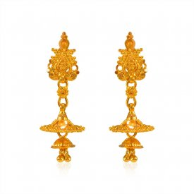 22K Chandelier Earrings