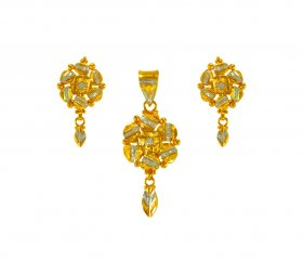 22 Karat Gold Pendant Set