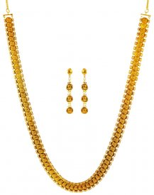 22K Gold Ginni Necklace Set