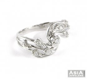 Fancy White Gold Ring