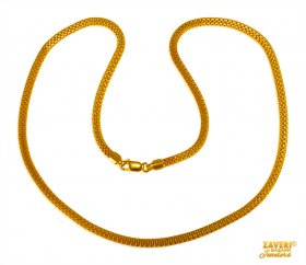 22 Kt Gold Chain (18 In)