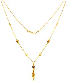 22Kt Gold Fancy Neck Chain ( Gold Fancy Chains )