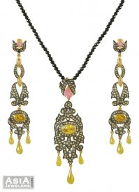 Nizam's Designer Pendant Set ( Nizam Collection (Victorian) )