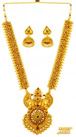 22 Karat Gold Necklace Set