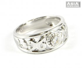 White Gold Ladies Ring ( White Gold Rings )