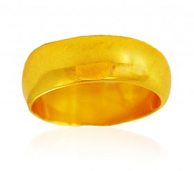 22karat Gold Band (Ring) ( Gold Wedding Bands )