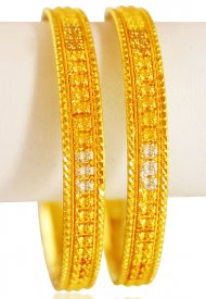 22KT Yellow Gold Bangles