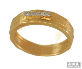 Diamond Mens Ring(18k) ( Diamond Rings (Mens) )