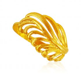 22Karat Gold Fancy Ring for Ladies