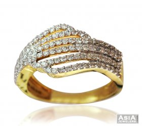 Exclusive Diamond Wide Band 18K  ( Diamond Rings (Ladies) )