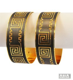 Two Tone Lazer Bangle (1 Pc only) ( Multi Tone Bangles )