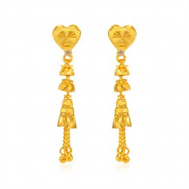 22K Gold Fancy Earrings