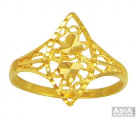 Ladies Gold Ring(22k) ( 22K Gold Rings )