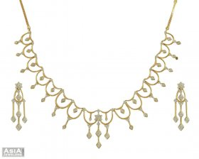 Nakshatra Diamond Necklace Set