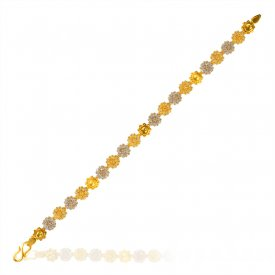 22K Gold Ladies Bracelet