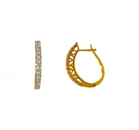 Gold Clip On Earrings  ( Gold Clipon Earrings )