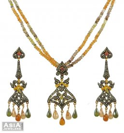 Victorian Polki Pendant Set ( Nizam Collection (Victorian) )