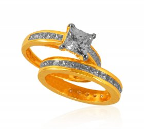 22Kt Gold Designer Wedding Ring