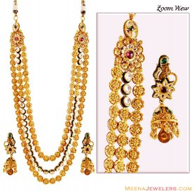 Exclusive 22K Bridal Necklace Set