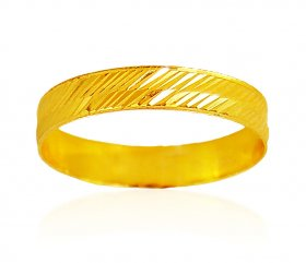 22Kt Gold Band  ( Gold Wedding Bands )