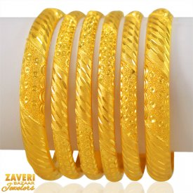22k Gold Bangles Set ( Gold Bangle Sets )