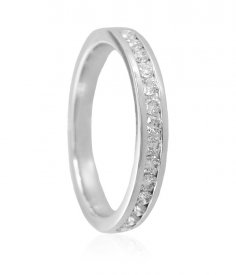 18k White Gold Ladies Band ( Diamond Rings (Ladies) )
