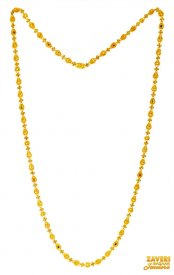 22K Gold Filigree Long Chain  ( Gold Fancy Chains )