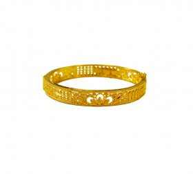 22 Kt Gold Kada for Baby Girl
