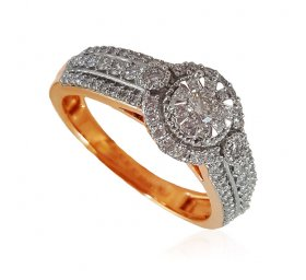 18Kt Gold Diamond Ladies Ring ( Diamond Rings (Ladies) )